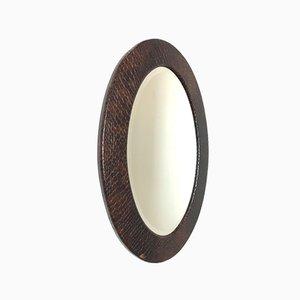 Vintage Round Mirror, 1960s