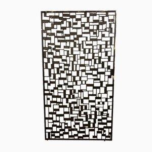 Brutalistischer Eisen Wandschirm von Luciano Frigerio, 1960er