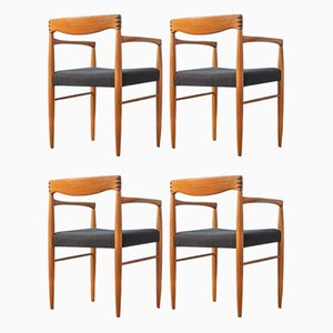 Esszimmerstühle von HW Klein für Bramin, 1960er, Set of 4