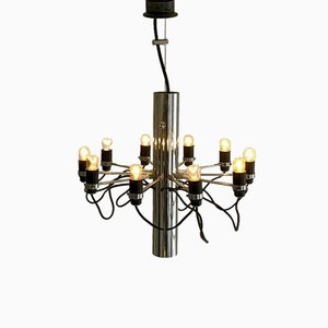 Modern Chandelier by Gino Sarfatti for Arteluce, 1960s