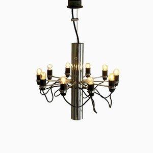 Modern Chandelier by Gino Sarfatti for Arteluce, 1960s