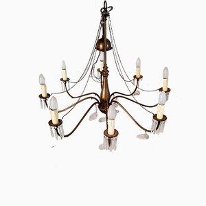 Edwardian Style Brass Chandelier