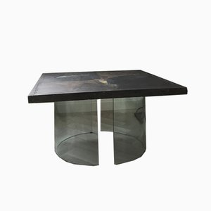 Vintage Dutch Square Coffee Table by Paul Kingma for Kingma