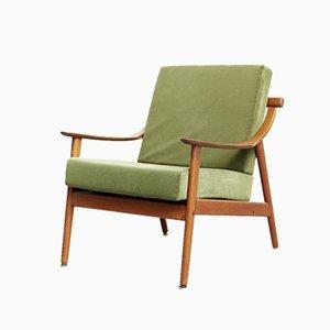 Danish Teak MK 119 Lounge Chair by Arne Hovmand-Olsen for Mogens Kold, 1960s