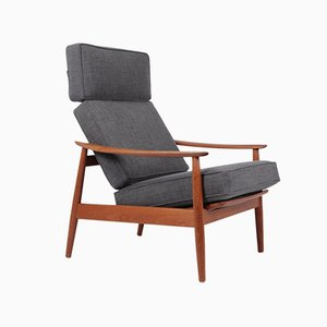 Mid-Century Teak FD164 Armchair by Arne Vodder for Cado, 1960s