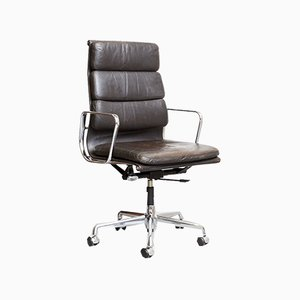 Vintage EA219 Soft Pad Office Chair by Charles & Ray Eames for Herman Miller, 1980s