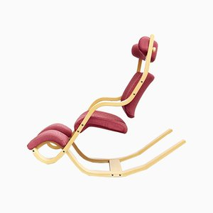 Vintage Model Balans Rocking Chair by Peter Opsvik for Stokke, 1980s