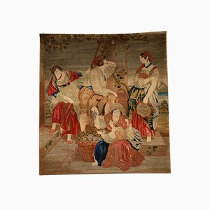 Antique Handmade Tapestry