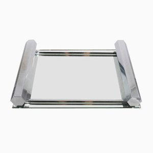 Vintage Art Deco Mirrored Tray