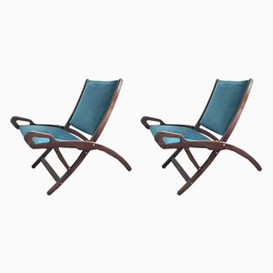 Ninfea Lounge Chairs by Gio Ponti for Fratelli Reguitti, 1950s, Set of 2