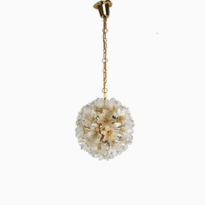 Murano Glass Ceiling Lamp by Paolo Venini for VeArt, 1960s