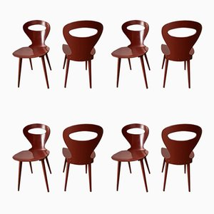 Mid-Century Model Seagull Side Chairs from Baumann, Set of 8