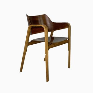 Moulded Plywood Side Chairs by Eric Lyons for Packet Furniture, 1950s, Set of 4