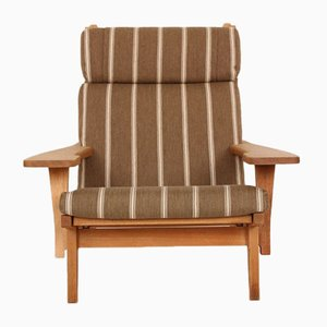 Mid-Century GE375 Lounge Chair by Hans J. Wegner for Getama