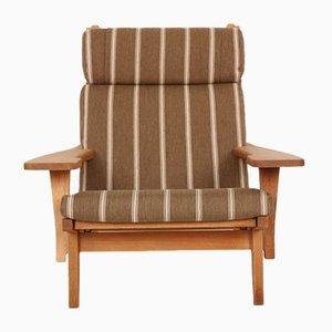 Mid-Century GE375 Sessel von Hans J. Wegner für Getama