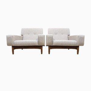 Mid-Century Teak Lounge Chairs by Ib Kofod Larsen for G-Plan, Set of 2