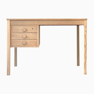 Mid-Century Oak Desk from Domino Møbelfabrik