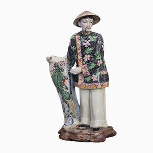 Keramik Figur von VB Milano, 1930er