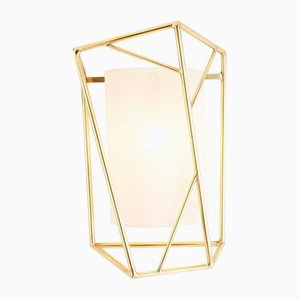 Star Wall Lamp Brass by Utu Soulful Lighting
