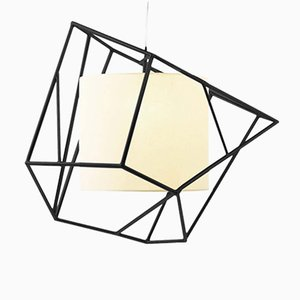 Star I Lacquered Suspension Lamp by Utu Soulful Lighting