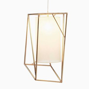 Star II Brass Suspension Lamp by Utu Soulful Lighting