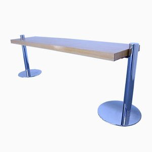 Mid-Century Ash Console Table by Sergio Asti for Poltronova