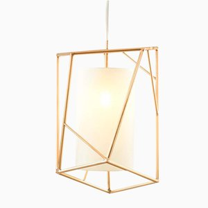 Star III Brass Suspension Lamp by Utu Soulful Lighting
