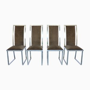 Mid-Century Dining Chairs by Romeo Rega, Set of 4