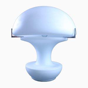 Mid-Century Milchglas Tischlampe