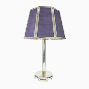 Large Vintage Golden Table Lamp