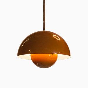 Lampe à Suspension Flowerpot par Verner Panton pour Louis Poulsen, 1970s