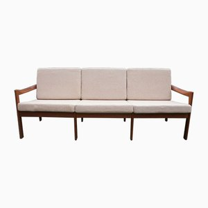 Mid-Century Teak Sofa by Illum Wikkelsø for Niels Eilersen