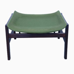 Mid-Century Rosewood Ottoman by Gianfranco Frattini for Cassina