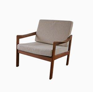 Mid-Century Teak Chair by Illum Wikkelsø for Nils Eilersen