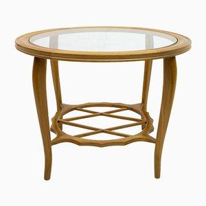 Tavolino da caffè moderno in faggio di Paolo Buffa, anni '40