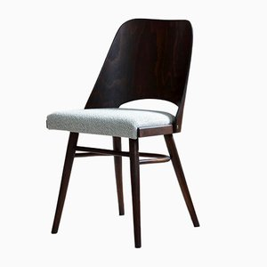 Mid-Century Model 514 Dining Chairs by Radomir Hofman for TON, Set of 4