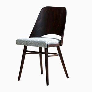 Mid-Century Modell 514 Esszimmerstühle von Radomir Hofman für TON, 4er Set