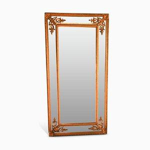 French Gilt Beveled Mirror, 1920s