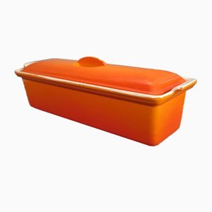Vintage Enameled Casserole from Le Creuset France, 1970s