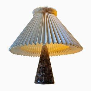 Lampada da tavolo moderna in ceramica di Michael Andersen & Son, Danimarca, anni '70