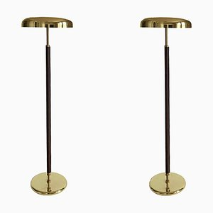 German Art Deco Style Floor Lamp in the Style of Desny, 1980s, Set of 2