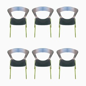 Sedie da pranzo di Susanne Gronlund per Fredericia Furniture, Danimarca, inizio XXI secolo, set di 6
