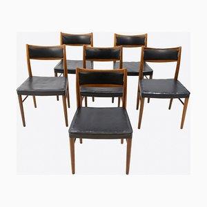 Swedish Teak Dining Chairs from Gemla Möbler, 1968, Set of 6