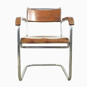 Vintage Cantilever Armchair from Cova