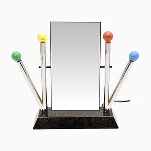 Vintage Illuminated Mirror by Anna Anselmi for Bieffeplast