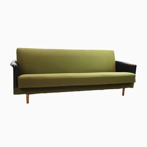 Vintage Scandinavian Green Sofa