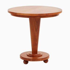 Art Deco Ash Side Table, 1940s