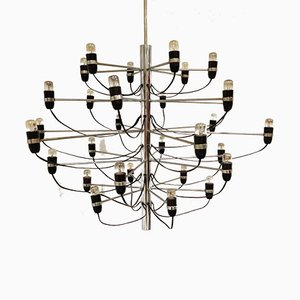 Chandelier by Gino Sarfatti, 1970s