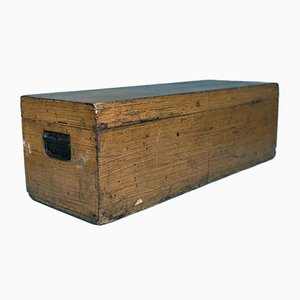 Dutch Major Oak Chest or Trunk, 1930s