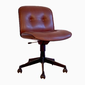Mid-Century Rosewood Desk Chair by Ico Luisa Parisi for MIM